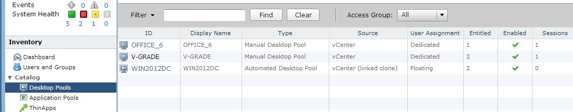 desktop pools